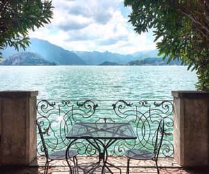 architecture, italy, and lake como image