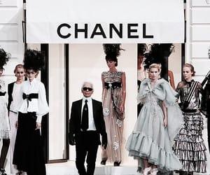 catwalk, chanel, and designer image
