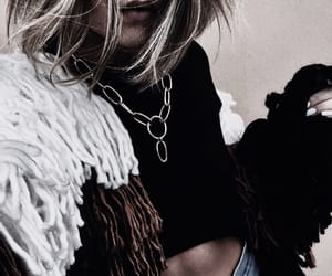 coat, fashion, and jewelry image