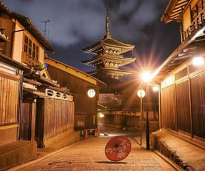 japan, night, and places image