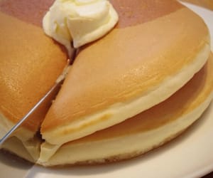 food, pancakes, and theme image