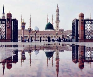 beautiful, landscape, and mosque image