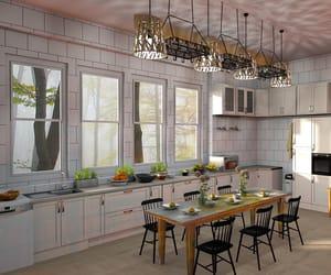 kitchen design, modern kitchen, and kitchen cabinets image