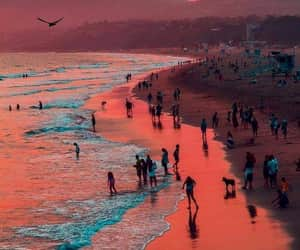 baby, beach, and beautiful image