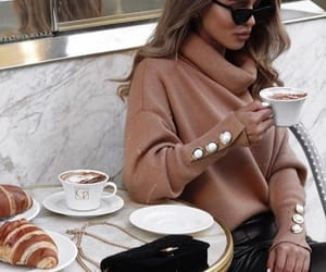 aesthetic, breakfast, and clothes fashion image