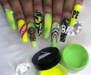 bape, ghetto, and green image