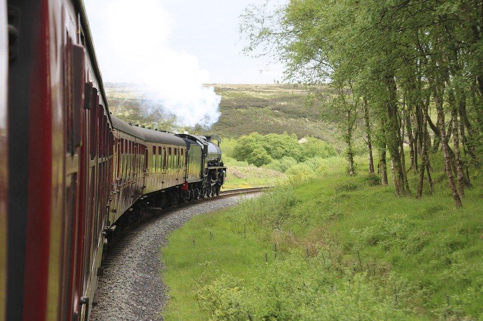 britain, uk, and rail image