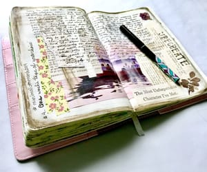 Art Book, diary, and journaling image