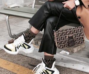 bag, chic, and fendi image