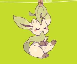 pokemon and leafeon image
