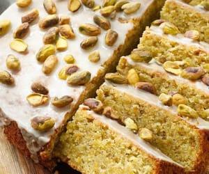 cake, dessert, and pistachio image