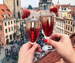 drink, city, and travel image
