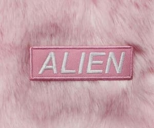 pink, alien, and pastel image
