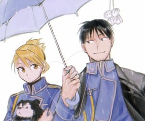 fullmetal alchemist, fmab, and roy mustang image