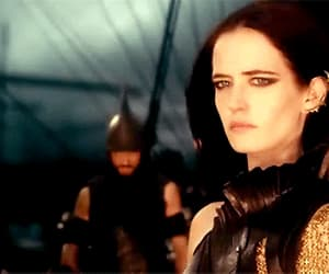 eva green, explosion, and 300 image