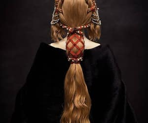 hair, belleza, and medieval image