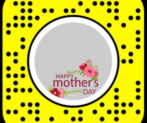 lenses, happy mothers day, and snapchat image