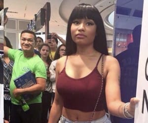 reaction, standing, and nicki minaj image