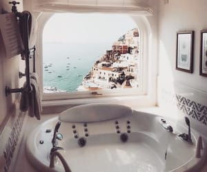 bathroom, home, and indie image