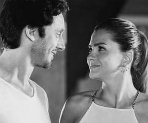 black and white, couple, and benjamin vicuña image