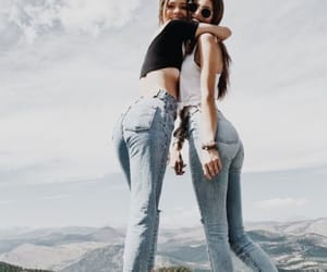 fashion, instagram, and jeans image