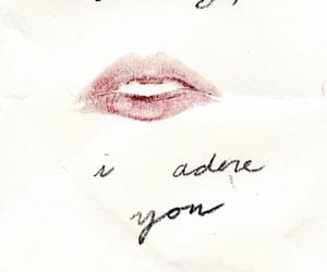 love, quotes, and lips image