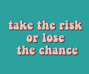 quotes, words, and risk image
