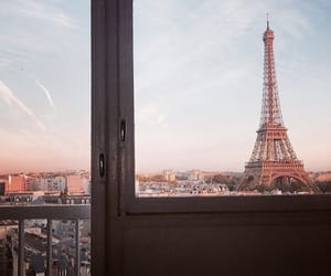 aesthetic, blue, and eiffel tower image