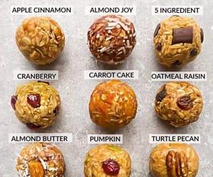 recipe, vegan, and snack image