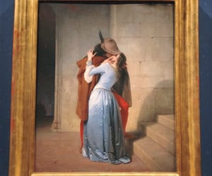 art, kiss, and milan image