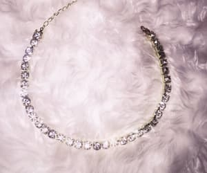 diamond, jewelery, and necklace image