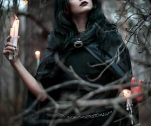 witch, dark, and fantasy image