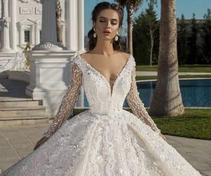 dress, fairytale, and white dress image