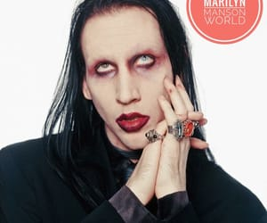 goth, Marilyn Manson, and gothic image