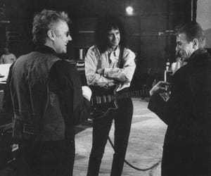 david bowie, Queen, and roger taylor image