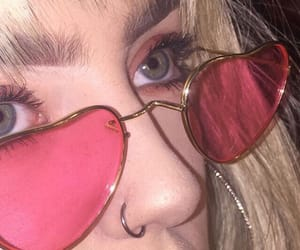 aesthetic, heart shaped, and nose ring image
