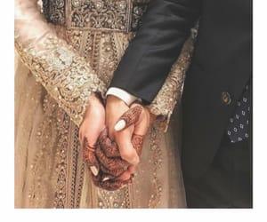 bride, dress, and groom image
