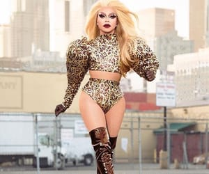 drag race and miss vanjie image