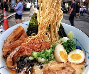 food, ramen, and delicious image