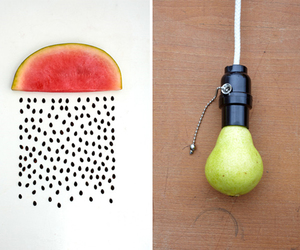 art, cool, and fruit image