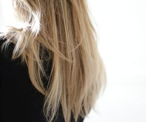 blonde, aesthetic, and hair image