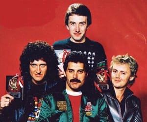 band, brian may, and Freddie Mercury image