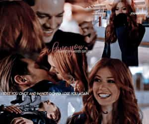 clary fray, jace herondale, and frases de amor image