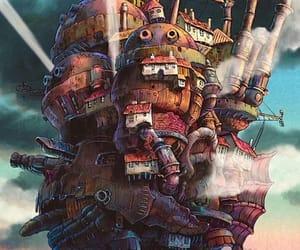 ghibli, Hayao Miyazaki, and howl's moving castle image