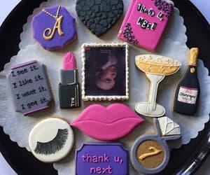 cake, ariana grande, and thank you next image