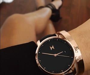 accessories, black, and reloj image