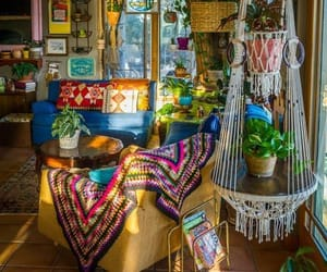 interior, boho, and decoracion image