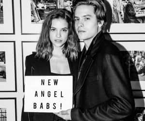 handsome, dylan sprouse, and barbara palvin image