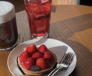 breakfast, drink, and yummy image