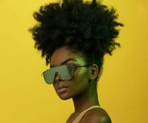 yellow, beautiful, and melanin image